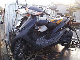 相模原市緑区で有料で引き取りと廃車したホンダ ライブDio(黒)