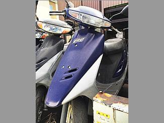 流山市で無料で引き取りと廃車した原付 ホンダ スーパーDio(ブルー)