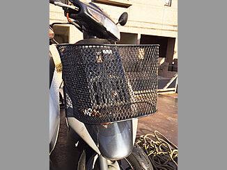 品川区で無料引き取り廃車したホンダ スーパーDio(紺色)