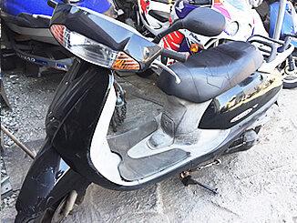 茅ヶ崎市で無料で引き取りしたホンダ リード50(黒色)
