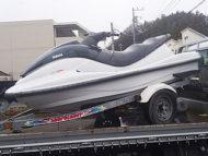 町田市/東京都でマリンジェット MJ-XL800(黒&白)を無料引き取りと処分しました