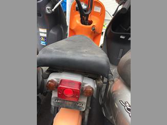 秩父市/埼玉県で引き取りと廃車したスズキ チョイノリ(オレンジ)
