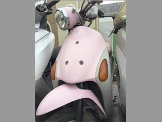小平市御幸町で無料引き取り廃車したスズキ レッツ4パレット(ピンク)