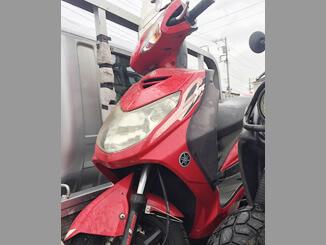木更津市で無料で引き取りした シグナスX SR(赤)
