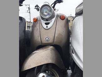 八潮市で無料で引き取りしたヤマハ ビーノ50(茶色)