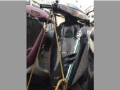 大田区東雪谷2丁目でホンダ スーパーDio SE(ブラック)を無料で引き取り処分