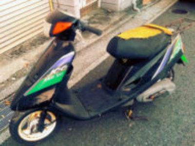 横須賀市久里浜7丁目で原付バイクのヤマハ ジョグ(黒)を無料で引き取り