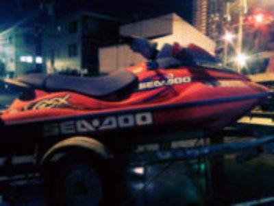春日部市米島で水上バイク シードゥー GSX limited レッドを無料引き取り