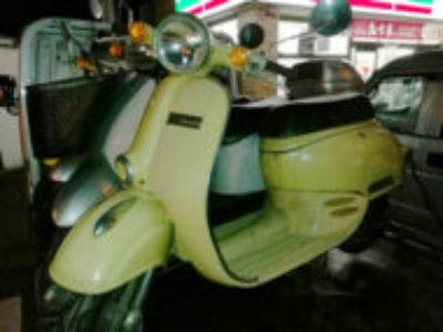 横浜市金沢区柴町でホンダ ジョルノ イエローを無料引き取り処分
