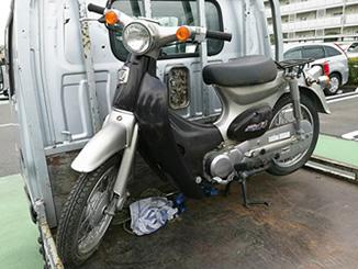 松戸市松戸で無料で引き取りしたホンダ リトルカブ50 ブラック