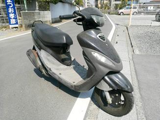 鶴ヶ島市上広谷で無料引き取りしたキムコ スーナー50SS ブラック