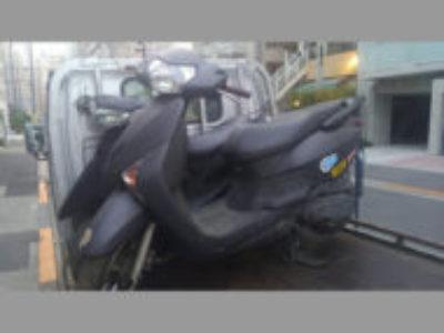 船橋市田喜野井4丁目でホンダ リード110EX 黒を無料引き取り処分