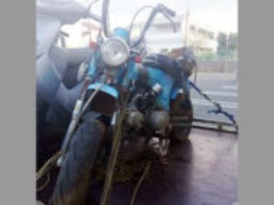 所沢市牛沼でホンダ ダックス50 ブルーを無料で引き取り処分