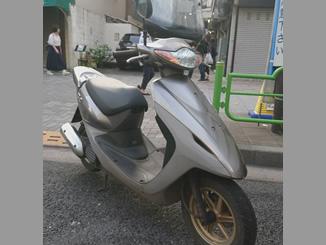 東京都中央区勝どき5丁目で無料で引き取りしたホンダ スマートDio Z4 シルバー