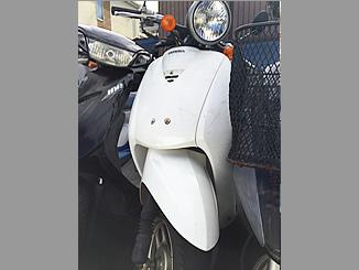 静岡件駿河市で無料で引き取りしたホンダ トゥデイ 4サイクル(白)