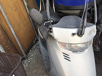 町田市/東京都で原付 キャビーナ50(白)を無料引き取りと廃車しました