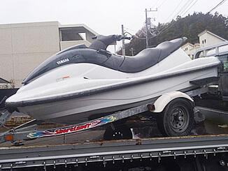 東京都町田市で無料引き取りしたマリンジェット MJ-XL800(黒&白)