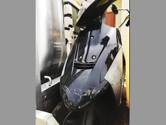 東京都三鷹市下連雀の原付バイク スズキ セピア50の黒色を無料引き取りと廃車しました