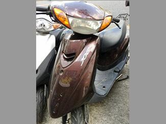 東京都足立区の竹の塚店にお持ち込みいただいた原付バイク ヤマハ JOG(ブラウン)