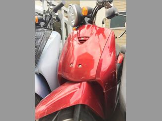 川崎市多摩区で引き取りした原付バイク ホンダ トゥデイ(レッド)