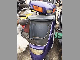 神奈川県葉山町で無料引き取りしたヤマハ ジョグポシェ(紫色)