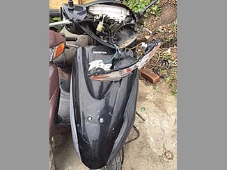 相模原市中央区でバイク ホンダ Dio(黒)を引き取りと廃車しました