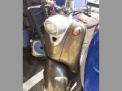 相模原市南区で原付バイク ヤマハ ビーノ(ブラウン)を無料引き取り処分