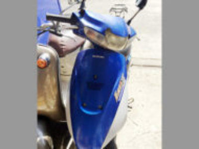 千葉県八千代市でスズキ レッツ2(ブルー)を無料引き取りと処分
