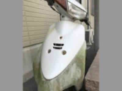狛江市和泉本町の原付バイク ヤマハ JOG(白色)を無料で引き取り