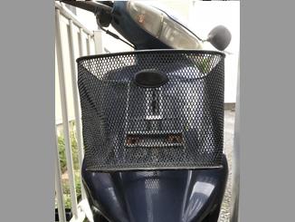 川口市本町で無料で引き取りしたヤマハ アクシス50(ブルー)