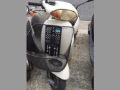稲城市東長沼でホンダ タクト50(白・前カゴ付)を無料で引き取り処分