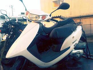 東松山市上野本で無料引き取り処分したホンダ Dio-6 白