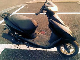 茅ヶ崎市美住町で原付スクーターのホンダ Dio6 黒色を無料で引き取り