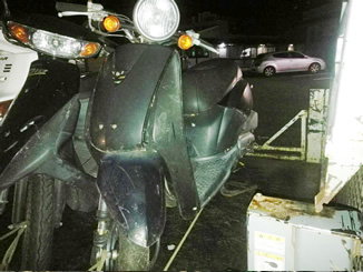 伊東市宇佐美で無料で引き取り処分したホンダ トゥデイ ブラック