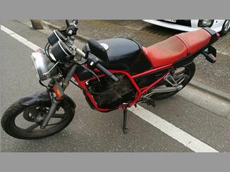 東久留米市小山3丁目で無料で引き取りしたヤマハ SRX250 黒/赤