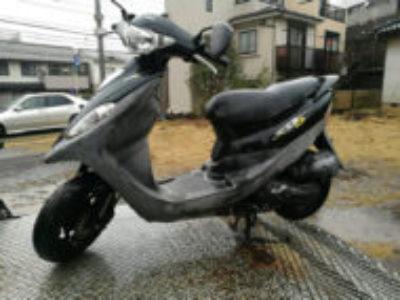 横浜市青葉区荏田町でSYM DD50 ブラックを無料で引き取り処分