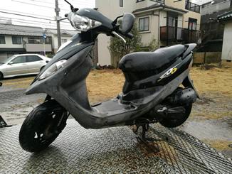 神奈川県横浜市青葉区荏田町で無料で引き取りしたSYM DD50 ブラック