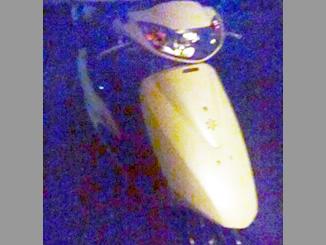 千葉県茂原市高師で無料で引き取りしたホンダのバイクのDio4スト 白