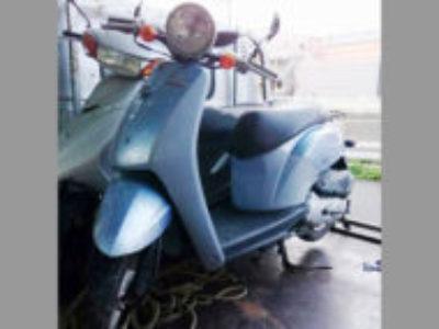 川崎市高津区久地3丁目の原付バイク トゥデイ ブルーを無料で引き取り