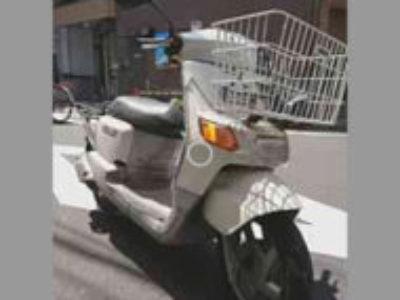 足立区西竹の塚1丁目の原付バイク ニュースギア 白を無料で引き取り処分