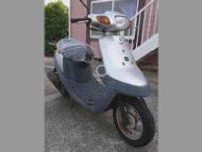 千葉県富里市七栄で原付バイク ヤマハ アプリオ シルバーを無料引き取り