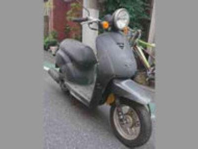 荒川区西尾久5丁目の原付バイク トゥデイ ガンメタルを無料引き取り処分