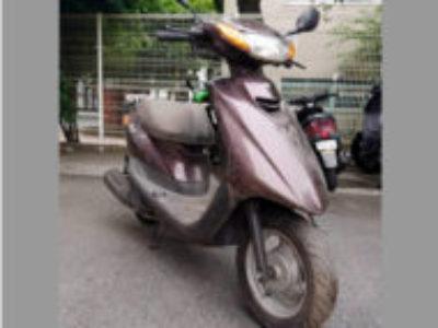 台東区東上野2丁目で原付バイク ヤマハ JOG/CE50 ブラウンを無料引き取り処分