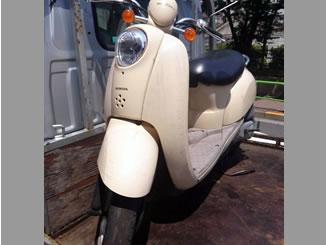 東京都練馬区光が丘3丁目で無料で引き取りしたホンダ クレアスクーピー ピッグベージュ