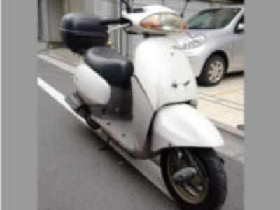 大田区大森北6丁目でホンダ タクト2スト ホワイトを引き取り処分
