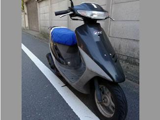 東京都世田谷区桜上水4丁目で無料で引き取りしたホンダ スーパーDio ブラック色