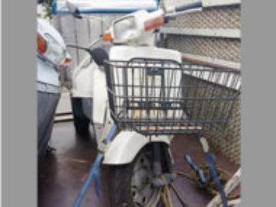 江東区潮見2丁目でホンダ ジャイロ UP 白色 前カゴ付を無料で引き取りと廃車
