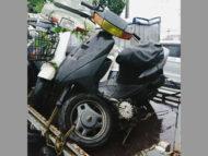 町田市西成瀬1丁目のスズキ  レッツ2 ブラックを有料で引き取り処分
