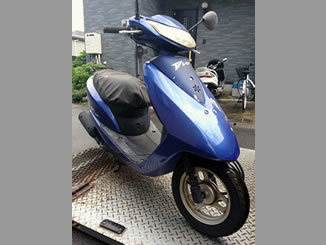 神奈川県厚木市山際で無料で引き取りしたホンダ Dio/4サイクル ブルー