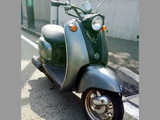 神奈川県横浜市中区根岸旭台で無料で引き取りしたヤマハ ビーノ2スト シルバー/ブラック色